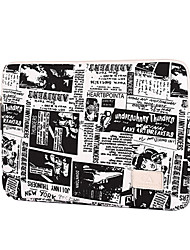 cheap -13.3 Inch Laptop / 14 Inch Laptop / 15.6 Inch Laptop Sleeve Canvas Retro / Letter for Men for Women for Business Office Water Proof Shock Proof