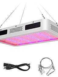 cheap -Grow Light LED Plant Growing Light LED Grow Light Full Spectrum 600W Red+Blue+UV+IR EU Plug For Hydroponics Vegetables and Flowering Plants