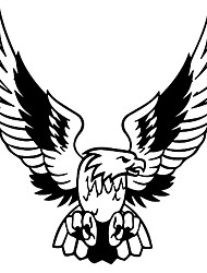 cheap -Car Sticker 3D 15.8*16cm Fashion Eagle On Car Funny Wild Animal Stickers and Decals Vinyl Car Styling Decals