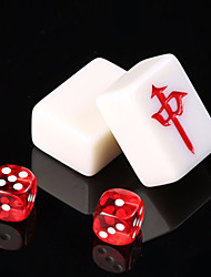 cheap -Board Game Mahjong Professional Large Size Plastic Kid's Adults' Unisex Boys' Girls' Toy Gift