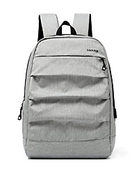 cheap -Large Capacity Oxford Cloth Zipper Commuter Backpack Daily Black / Gray