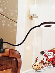 Недорогие -Настольная лампа / Лампа для чтения Окружающие Лампы / Декоративная Современный современный Активируется движением Назначение кафе / Офис AC100-240V Белый / Черный