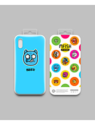 cheap -Case For Apple iPhone X / iPhone 8 Plus / iPhone 8 Shockproof Back Cover Cartoon TPU