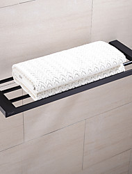 cheap -Towel Rack Black Brass Multi-bar Towel Bar Wall-Mounted Bathroom Accessories Household Hardware Fixture