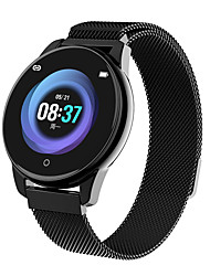 Недорогие -Жен. электронные часы На каждый день Мода Черный Серебристый металл Золотистый сплав Цифровой Черный Золотой Серебряный Защита от влаги Bluetooth Smart 30 m 1 комплект Цифровой