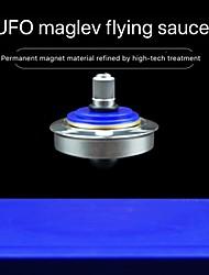 abordables -Spinner à main physique magnétique toupie volante lévitation suspendue gyro magie ufo gyroscope flottant soucoupe en lévitation jouets