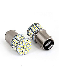 cheap -1157 3528 50SMD LED Car Brake Stop Tail Light Lamp Bulb White New 50 led 50smd 50led 2PCS