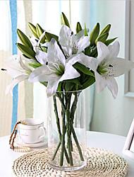 Недорогие -Короткая палка моделирования лилии украшения дома свадьба 37 см