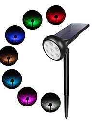 cheap -New Solar Spotlights Outdoor Waterproof Color Set Color Home Wall Garden Lawn Lights