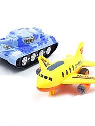 Недорогие -Игрушечные самолеты Самолёт Пластиковый корпус Детские Универсальные Игрушки Подарок 1 pcs