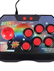 cheap -ARCADE CONSOLE JOYSTICK GAME CONTROLLER AV PLUG GAMEPAD WITH 145 GAMES FOR TV JOYSTICK GAMEPAD WIRED CONTROLLER PLUG HOT SALE