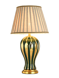 cheap -Artistic / Modern Contemporary New Design / Decorative Table Lamp For Bedroom / Office Ceramic 220V Blue / Green