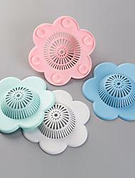 Недорогие -слив сливного типа цветок для ванной комнаты раковина кухонная раковина ситечко для волос крышка фильтра против засорения сильный адсорбция сток