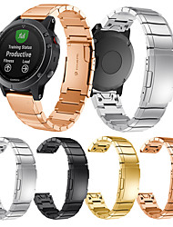 cheap -Smartwatch Band for Garmin Fenix 6/6Pro / Fenix 5/5plus / Forerunner 945/935 High-end Classic Buckle Stainless Steel Band QuickFit Wrist Strap 22mm