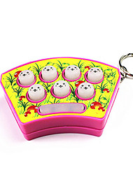 cheap -Mini Handheld Whack-A-Mole Whack Mouse Hamster Game with Sound & Keychain(Random Color)