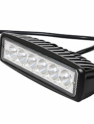 cheap -Car  LED 18 W thin section work light maintenance light off-road vehicles dome light