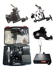cheap -BaseKey Professional Tattoo Kit Tattoo Machine - 3 pcs Tattoo Machines, Professional Aluminum Alloy 19 W 2 steel machine liner & shader / 1 rotary machine liner & shader / Case Included