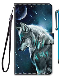 cheap -Case For Apple iPhone 11 / iPhone 11 Pro / iPhone 11 Pro Max Wallet / Card Holder / with Stand Full Body Cases Animal PU Leather / TPU