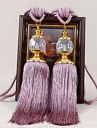 cheap -curtain Accessories Tassel European Style 2 pcs