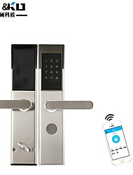 cheap -Mobile app remote password smart lock apartment rental room hotel electronic sensor lock