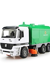 cheap -1:12 Metalic Plastic Truck Fire Engine Vehicle Dump Truck Toy Truck Construction Vehicle Toy Car Beach Toy Pull Back Car / Inertia Car Pull Back Vehicle Truck Boys' Girls' Car Toys