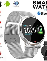 cheap -Women's Digital Watch Casual Fashion Black Silver Brown Alloy PU Leather Digital Black Silver Brown Water Resistant / Waterproof Bluetooth Smart 30 m 1 set Digital
