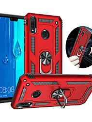 cheap -Case For Huawei Huawei P30 / Huawei P30 Pro / Huawei P30 Lite Shockproof / Ring Holder Full Body Cases Armor PC