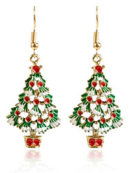 cheap -Women's Ladies Dainty Cute Elegant Alloy Christmas Party - Solid Colored
