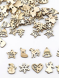 cheap -Ornaments Wood 100 Christmas