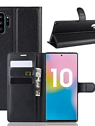 cheap -Samaung GALAXY S10 S9 NOTE 10 9 8 Case Hight Quality Luxury PU Leather Back Cover Business Flip Protective Card Wallet J7