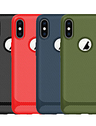 cheap -Case For Apple iPhone 11 / iPhone 11 Pro / iPhone 11 Pro Max Frosted Back Cover / Full Body Cases Solid Colored TPU Leath for iPhone 6  6 Plus  6s 6s plus 7 8 7 plus 8 plus X XS XR XS MAX
