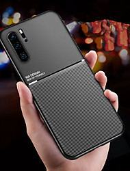cheap -Case for Huawei scene map Huawei P30 P30 Pro P20 P20 Lite P20 Pro The New Moire series Solid color Frosted Anti-fingerprint Hand sweat prevention PU Skin TPU Two in one phone case