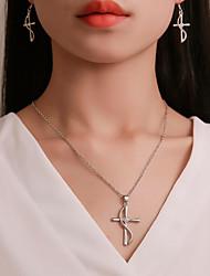 cheap -Women's Necklace Earrings Long Necklace Earrings Jewelry White For Carnival School Work Promise Festival