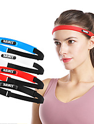 cheap -AOLIKES Sweatband HeadBand 1 pcs Sports Silicon Exercise & Fitness Gym Workout Workout Durable Sweat Control For Men Women