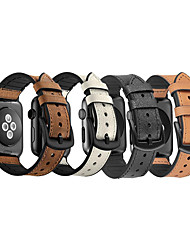 cheap -Silicone / Cowhide Strap For Apple Watch 44Mm / 40Mm Iwatch Strap 38Mm 42Mm Strap For Apple Watch 5 4 3 2 1