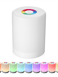 cheap -Rechargeable Smart LED Touch Control Night Light Induction Dimmer Intelligent Bedside Lamp Dimmable RGB Color Change With Hook