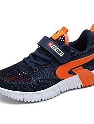 abordables -Garçon Confort Maille Chaussures d'Athlétisme Grands enfants (7 ans et +) Noir / Bleu de minuit / Gris Automne