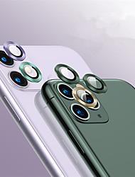 Недорогие -задняя часть протектора объектива закаленного алюминиевого сплава стеклянная для iphone 11/11 pro / 11 pro max