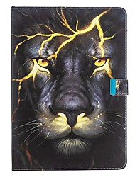 cheap -Case For Apple iPad Air / iPad 4/3/2 / iPad (2018) Wallet / with Stand / Flip Full Body Cases Animal PU Leather