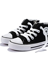 cheap -Boys' Comfort Canvas Sneakers Little Kids(4-7ys) Black / White / Red Spring