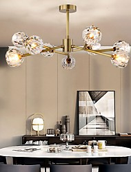 cheap -9-Light 85 cm Creative Chandelier Metal Industrial Electroplated Chic & Modern Nordic Style 110-120V 220-240V