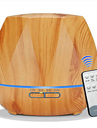 cheap -500ML Remote Control Air Humidifier Essential Oil Diffuser Humidificador Mist Maker LED Aroma Diffusor Aromatherapy