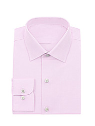 cheap -Pink Twill Dress Shirt