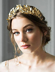 cheap -Wreaths Headpiece Masquerade Retro Vintage Alloy For Princess Aurora Cosplay Halloween Carnival Women's Costume Jewelry Fashion Jewelry / Crown