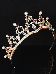 cheap -Tiaras Wreaths Crown Masquerade Retro Vintage Lolita Alloy For Princess Aurora Cosplay Halloween Carnival Women's Costume Jewelry Fashion Jewelry