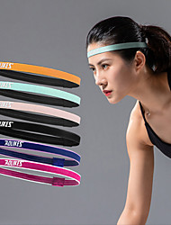 cheap -AOLIKES Sweatband HeadBand 1 pcs Sports Nylon Exercise & Fitness Gym Workout Workout Durable Sweat Control For Men Women