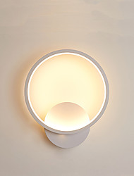 cheap -LED Modern Wall Lamps Wall Sconces Bedroom Shops / Cafes Iron Wall Light 220-240V 18 W