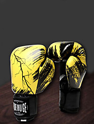 cheap -Boxing Bag Gloves / Pro Boxing Gloves / Boxing Training Gloves for Boxing / Kick Boxing / Muay Thai Unisex Easy dressing / Vibration dampening / Eases pain Microfiber / XPE / PU (Polyurethane) 1 Pair