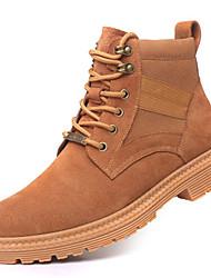 cheap -Men's Desert Boots Suede Fall & Winter Boots Black / Brown / Khaki