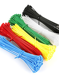 cheap -Bike Tool Strap Stable For Recreational Cycling Fixed Gear Bike Cycling Bicycle Plastic Random Colors 200 pcs